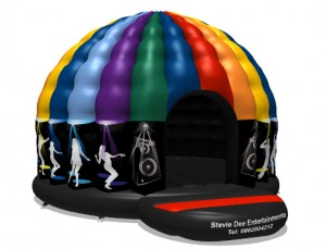 Children's Disco Dome Hire